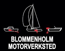 Blommenholm motorverksted Logo